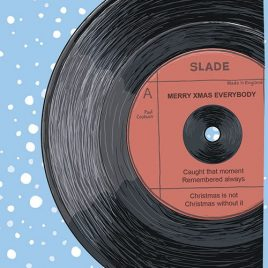 Slade Themed Christmas Cards