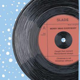 Slade Themed Christmas Cards