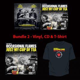 Just My Cup Of Tea – Bundle 2 – Vinyl, CD & T-Shirt