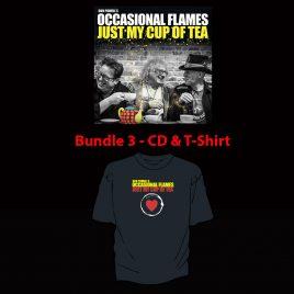 Just My Cup Of Tea – Bundle 3 – CD & T-Shirt